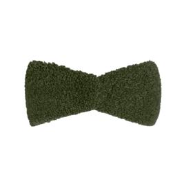 Hoofdband teddy groen
