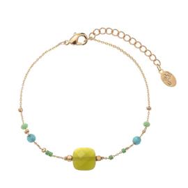 Armband beads groen