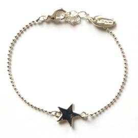 Armband ozom zilver ster