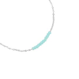 Armband beads blauw