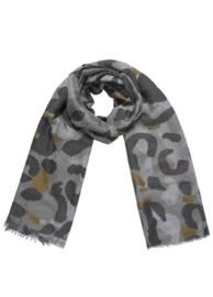Sjaal luipaard groen
