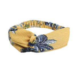 Haarband ananas geel