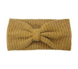 Haarband winter geel