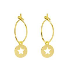 Creolen ster goud 2.0