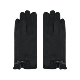 Handschoenen strik zwart