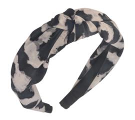 Haarband luipaard grijs 2.0