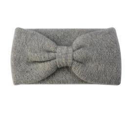 Haarband winter soft grijs