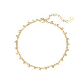 Armband dots goud