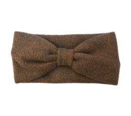 Haarband winter soft bruin