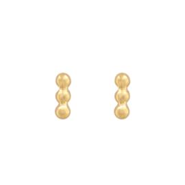 Oorbellen dots goud