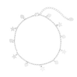 Enkelbandje zilver ster