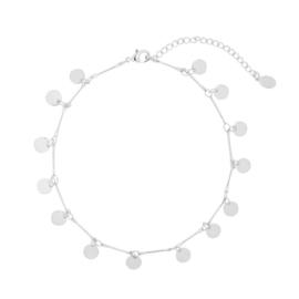 Enkelbandje 'circles' zilver