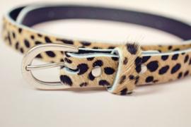 Riem cheetah beige 90cm