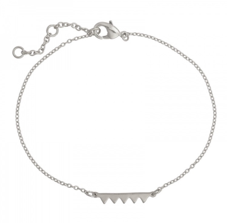 Armband zigzag zilver