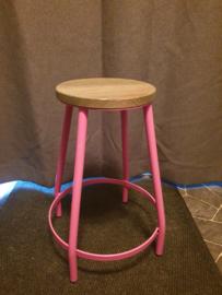 Roze kruk kitchen trend
