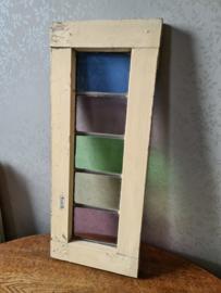 Oud glas in lood raam nr1