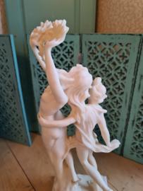 Sculptuur beeld Apollo&Daphne