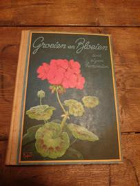 Oud plaatjesalbum groeien en bloeien door eigen bemoeien 1938