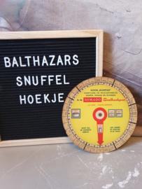 Vintage jaren 60 kook kompas tomado snelkookpan