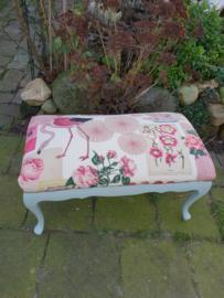 Voetenbank footstool flamingo