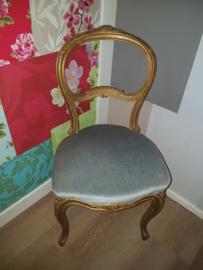Antiek frans boudoir stoeltje