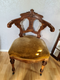 Antiek boudoir stoeltje