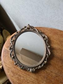 Barok messing spiegel