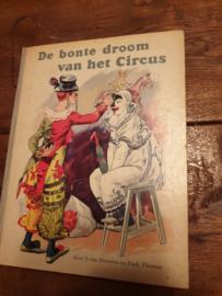 Oud plaatjesalbum de bonte droom van het circus 1960