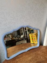 Oude brocante spiegel