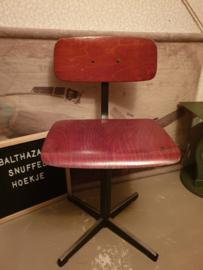 Vintage school stoeltje