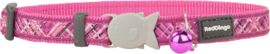 Halsband Kat - Flanno Hot Pink