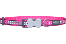 Halsband Hond - Hot Pink Reflective
