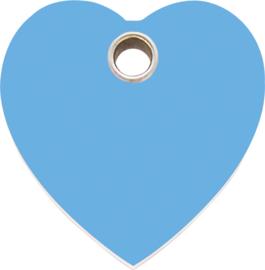 Hartje Plastic (4HT) Lichtblauw - Small 20.1mm