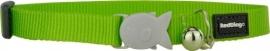 Halsband Kat - Lime Green