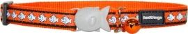 Halsband Kat - Reflective Oranje