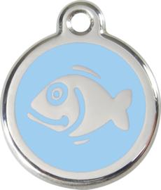 Vis (1FI) Lichtblauw - Small 20mm