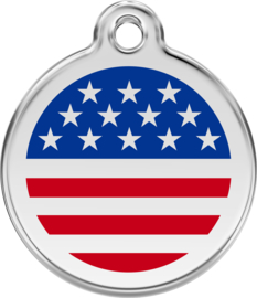 Stars & Stripes (1US) - Large 38mm