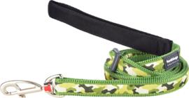 Hondenlijn - Camouflage Groen
