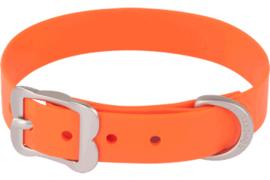 PVC Halsband - Oranje (Biothane)