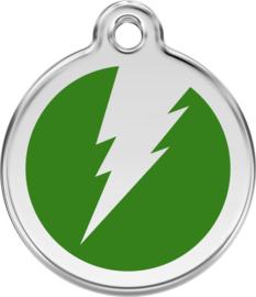 Bliksem (1ZF) Groen - Small 20mm