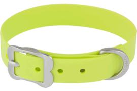 PVC Halsband - Lime (Biothane)