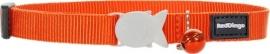 Halsband Kat Oranje