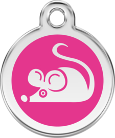 Muis (1MS) Hot Pink - Small 20mm