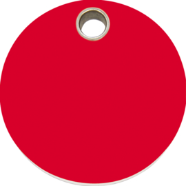 Rondje Plastic (4CL) Rood - Small 20mm