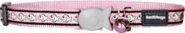 Halsband Kat - Reflective Roze