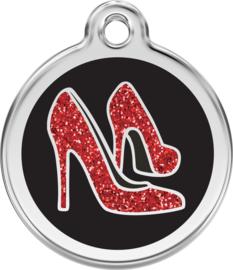 Red Shoe Glitter