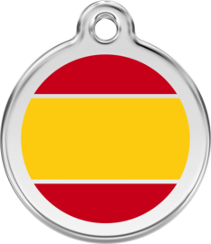 Spaanse Vlag (1ES) - Medium 30mm