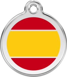 Spaanse Vlag (1ES) - Small 20mm