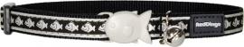 Halsband Kat - Reflective Zwart