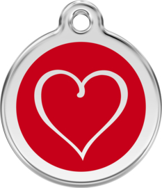 Tribal Heart (1TH) Rood - Small
